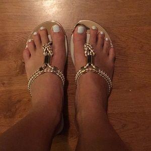Mossimo white sandals